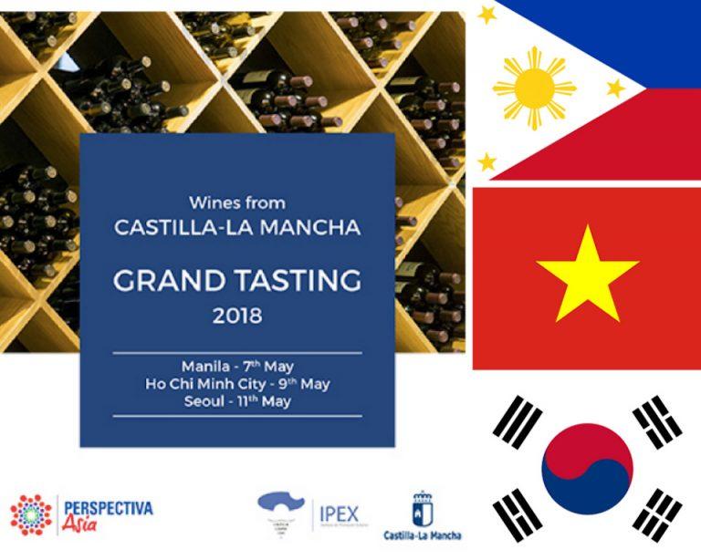 Grand Tasting – Manila, Ho Chi Minh & Seúl