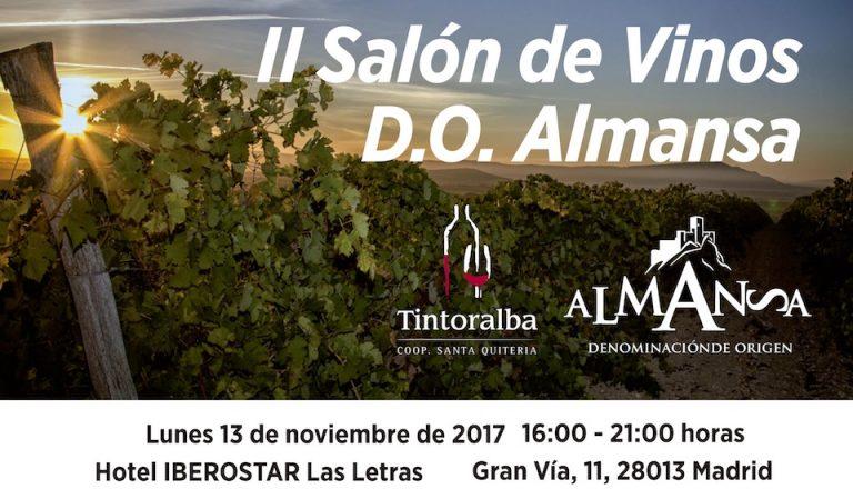 II Salón de Vinos D.O. Almansa en Madrid
