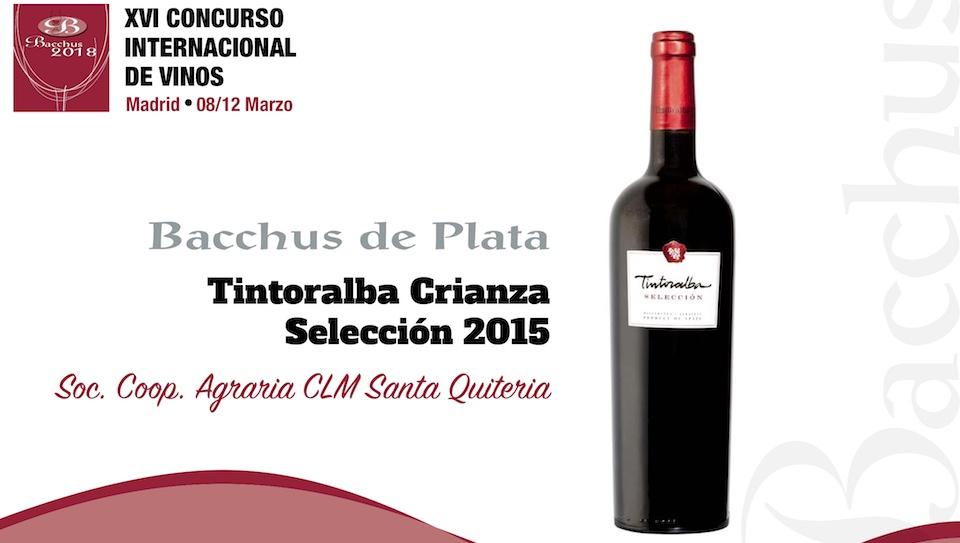 Tintoralba Selección 2015 – Silver Bacchus 2018