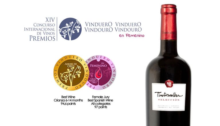 Double Gold Medal for our Tintoralba Selection. Best Spanish Wine at VinDuero-VinDouro in Feminine