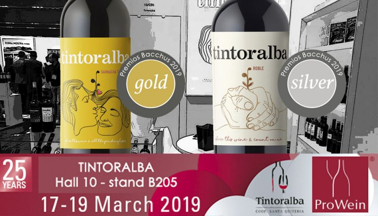 We are going to Prowein 2019 with new Bacchus Medals