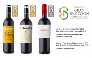 Gold and Silver medals for our wines in the Gran Selección Awards 2019