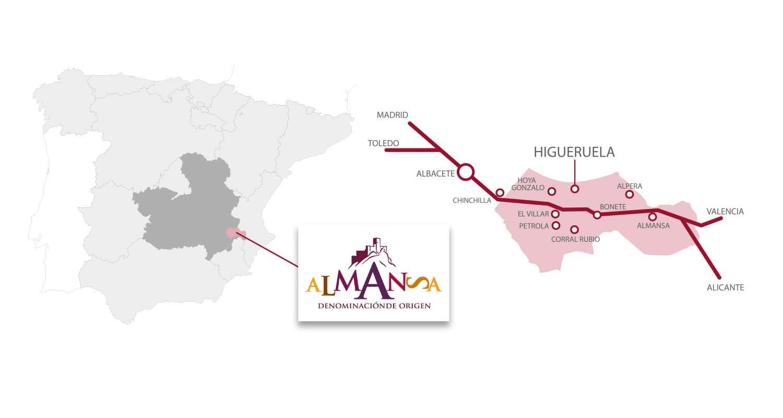 Almansa Designation of Origin - Higueruela