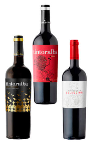 Pack tres botellas Crianza