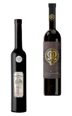 Pack dos botellas vinos Dulces Tintoralba