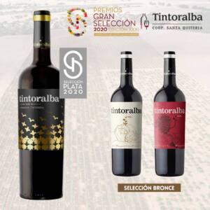 Tintoralba recibe tres medallas en los premios Gran Seleccción 2020 de Castilla-La Mancha