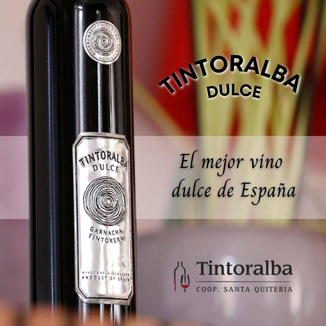 Tintoralba Dulce, donde la garnacha tintorera se viste de gala para deslumbrar con el mejor vino dulce de España
