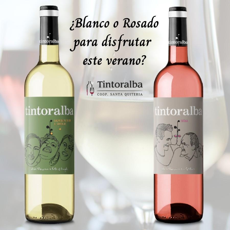 ¿Vino blanco o vino rosado para disfrutar este verano?